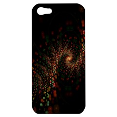 Multicolor Fractals Digital Art Design Apple iPhone 5 Hardshell Case