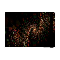 Multicolor Fractals Digital Art Design Apple iPad Mini Flip Case