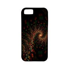 Multicolor Fractals Digital Art Design Apple iPhone 5 Classic Hardshell Case (PC+Silicone)