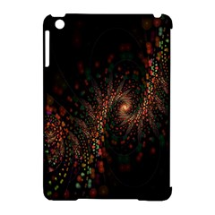 Multicolor Fractals Digital Art Design Apple iPad Mini Hardshell Case (Compatible with Smart Cover)