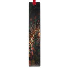 Multicolor Fractals Digital Art Design Large Book Marks