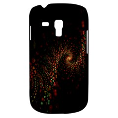Multicolor Fractals Digital Art Design Samsung Galaxy S3 MINI I8190 Hardshell Case