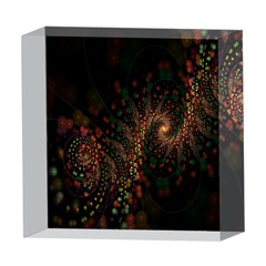 Multicolor Fractals Digital Art Design 5  x 5  Acrylic Photo Blocks