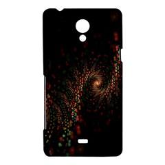 Multicolor Fractals Digital Art Design Sony Xperia T