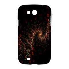 Multicolor Fractals Digital Art Design Samsung Galaxy Grand GT-I9128 Hardshell Case