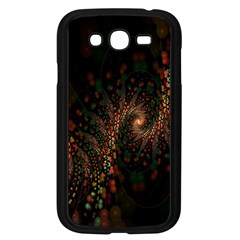 Multicolor Fractals Digital Art Design Samsung Galaxy Grand DUOS I9082 Case (Black)