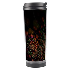 Multicolor Fractals Digital Art Design Travel Tumbler