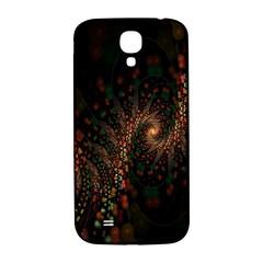 Multicolor Fractals Digital Art Design Samsung Galaxy S4 I9500/I9505  Hardshell Back Case