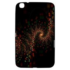 Multicolor Fractals Digital Art Design Samsung Galaxy Tab 3 (8 ) T3100 Hardshell Case