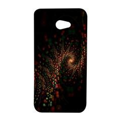 Multicolor Fractals Digital Art Design HTC Butterfly S/HTC 9060 Hardshell Case