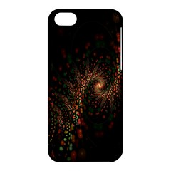 Multicolor Fractals Digital Art Design Apple iPhone 5C Hardshell Case