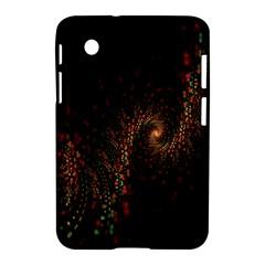 Multicolor Fractals Digital Art Design Samsung Galaxy Tab 2 (7 ) P3100 Hardshell Case