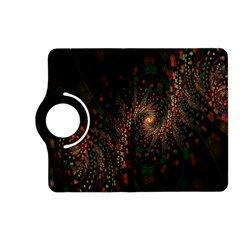 Multicolor Fractals Digital Art Design Kindle Fire HD (2013) Flip 360 Case