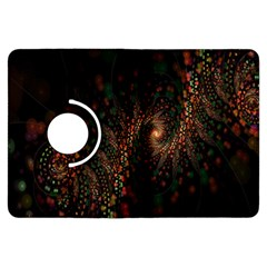 Multicolor Fractals Digital Art Design Kindle Fire HDX Flip 360 Case