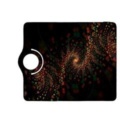 Multicolor Fractals Digital Art Design Kindle Fire HDX 8.9  Flip 360 Case