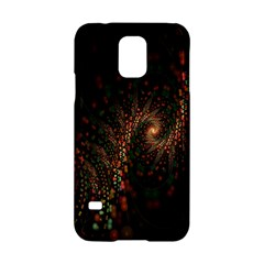 Multicolor Fractals Digital Art Design Samsung Galaxy S5 Hardshell Case