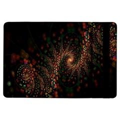 Multicolor Fractals Digital Art Design iPad Air Flip