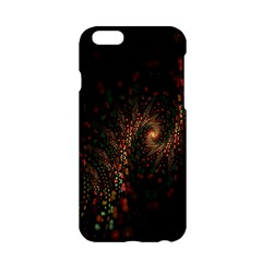 Multicolor Fractals Digital Art Design Apple iPhone 6/6S Hardshell Case