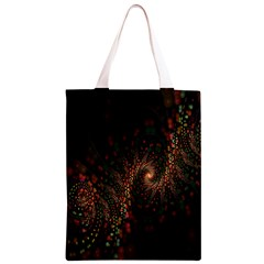 Multicolor Fractals Digital Art Design Classic Light Tote Bag