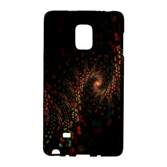 Multicolor Fractals Digital Art Design Galaxy Note Edge