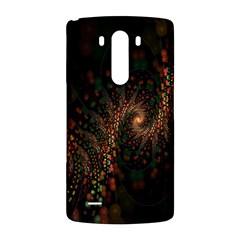 Multicolor Fractals Digital Art Design LG G3 Back Case