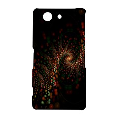 Multicolor Fractals Digital Art Design Sony Xperia Z3 Compact