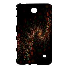 Multicolor Fractals Digital Art Design Samsung Galaxy Tab 4 (7 ) Hardshell Case