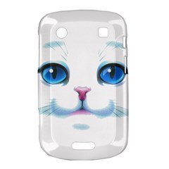Cute White Cat Blue Eyes Face Bold Touch 9900 9930