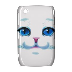 Cute White Cat Blue Eyes Face Curve 8520 9300