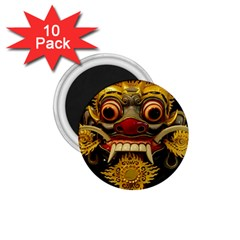 Bali Mask 1.75  Magnets (10 pack)