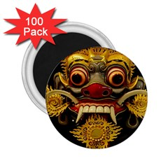 Bali Mask 2.25  Magnets (100 pack)