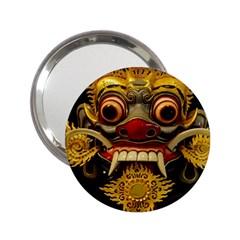 Bali Mask 2.25  Handbag Mirrors
