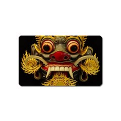 Bali Mask Magnet (Name Card)