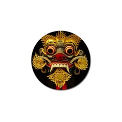 Bali Mask Golf Ball Marker