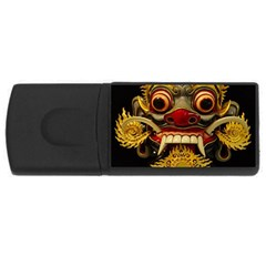 Bali Mask USB Flash Drive Rectangular (2 GB)