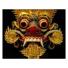 Bali Mask Rectangular Jigsaw Puzzl