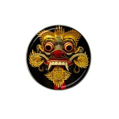 Bali Mask Hat Clip Ball Marker