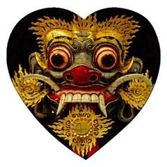 Bali Mask Jigsaw Puzzle (Heart)