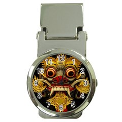 Bali Mask Money Clip Watches