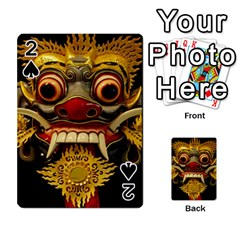Bali Mask Playing Cards 54 Designs
