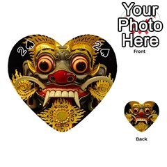 Bali Mask Playing Cards 54 (Heart)