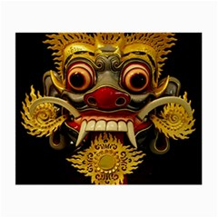 Bali Mask Small Glasses Cloth (2-Side)