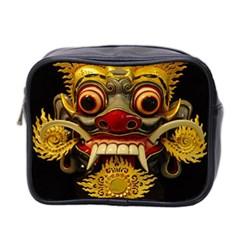 Bali Mask Mini Toiletries Bag 2-Side