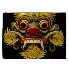 Bali Mask Cosmetic Bag (XXL)