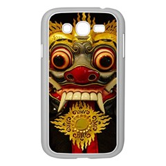 Bali Mask Samsung Galaxy Grand DUOS I9082 Case (White)