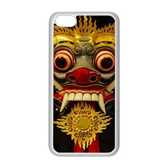 Bali Mask Apple iPhone 5C Seamless Case (White)