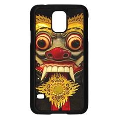 Bali Mask Samsung Galaxy S5 Case (Black)