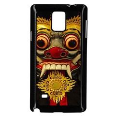 Bali Mask Samsung Galaxy Note 4 Case (Black)
