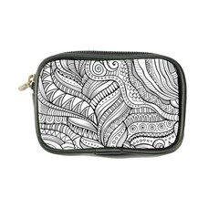 Zentangle Art Patterns Coin Purse