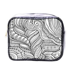 Zentangle Art Patterns Mini Toiletries Bags
